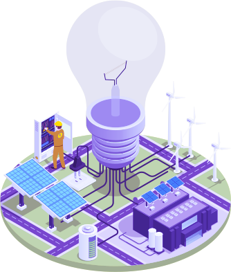 Web-connected inverters provide information on power plant performance